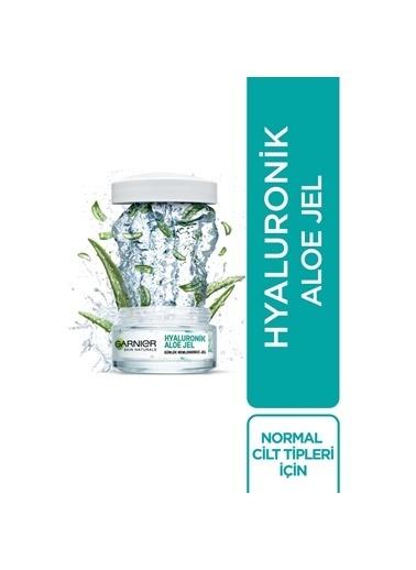 Garnier Garnier Hyaluronik Aloe Günlük Nemlendirici Jel 50Ml + Temizleme Jeli Cilt Bakım Seti Renksiz